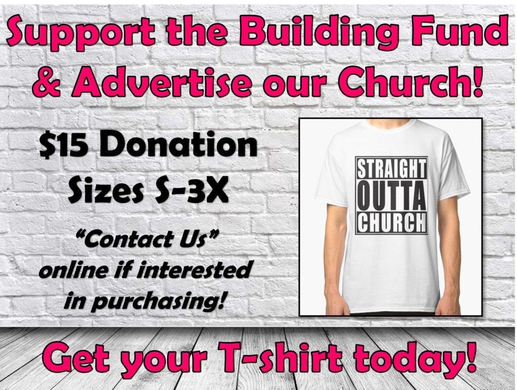 Straight Outta Church Tshirts_Special Event