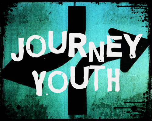 Journey Youth Background with words